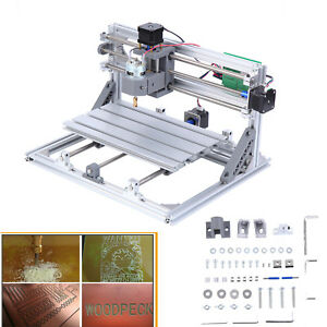 3 Axis 3018 Cnc Laser Carving Milling Router Engraver Machine 775 Spindle Motor