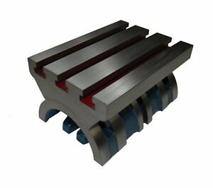 Adjustable 5 X 4 Tilting Angle Plate Milling Engineering Tools New