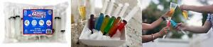 Party Syringes Jello Shot Pack Of 25 Large Syringe Prop With Cap Plastic