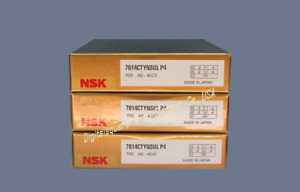 Nsk 7014ctynsulp4 Abec 7 Super Precision Spindle Bearings Matched Set Of 3