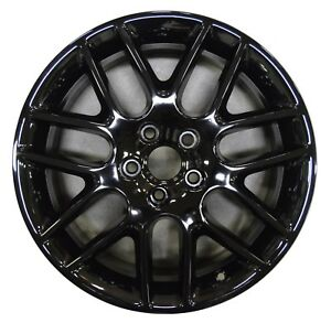 18 Ford Mustang 2012 2013 2014 Factory Oem Rim Wheel 3886 Gloss Black