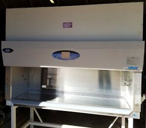 2009 Nuaire 6ft Labgard Nu 430 600 B2 Biosafety Cabinet W Stand Never Installed