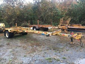 2006 Kiefer Built Extendable Utility Pole Trailer Tandem Air Brake 15 000 Lbs