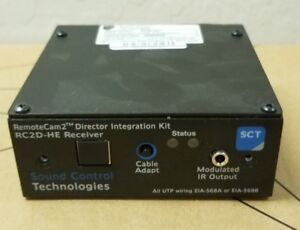 New Sound Control Technologies Remote Cam2 Director Integration Module Rc2d he