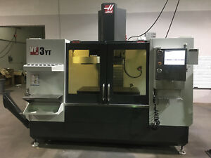 2014 Haas Vf3 yt Vertical Mill Machining Cnc In Excellent Condtion Low Hours