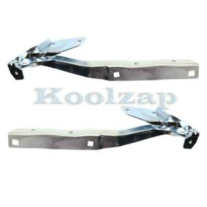 02 09 Dodge Ram Pickup Truck Front Hood Hinge Bracket Left Right Side Set Pair