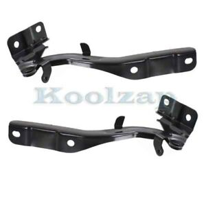 For 11 16 Optima Sedan Front Hood Hinge Bracket Left Right Side Set Pair