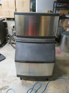 Manitowac Qy0284a 225lb Day Ice Machine Head With S400 Bin