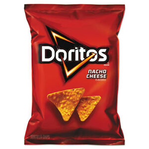 Nacho Cheese Tortilla Chips 1 75 Oz Bag 64 carton