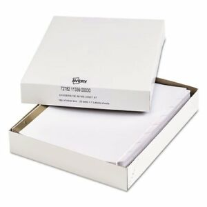 Index Dividers W white Labels 9 3 4 X 11 1 2 8 tab 25 Sets