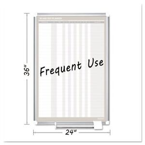 In out Magnetic Dry Erase Board 24x36 Silver Frame