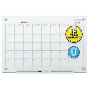 Infinity Magnetic Glass Calendar Board 48 X 36