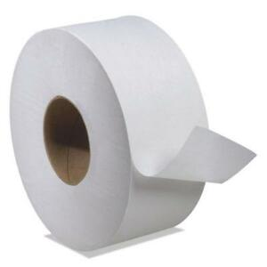 Universal Jumbo Bath Tissue 1 ply White 2 000 Ft 12 Roll ct