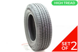 Set Of 2 Driven Once 245 70r17 Michelin Ltx M s2 110t 11 32