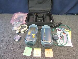 Wavetek Cable Tester Lt 8100a 100 Mhz Cat5 Antenna rf Fiber Military Wire Used