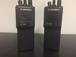Motorola Mt 2000 Two Way Radios Mt2000 W battery