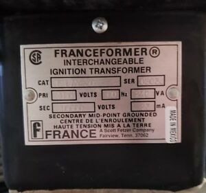 Franceformer 5lay 30 Interchangeable Ignition Transformer