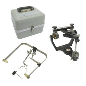 Denar Teledyne Hanau Wide vue Ii Dental Articulator W case Bow