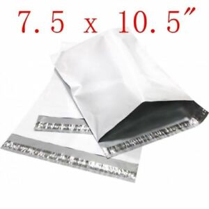 7 5 X 10 5 Poly Mailers Plastic Envelopes Shipping Bags 50 100 200 300 500 1000