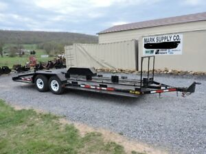 2004 Pro tainer 10 Bin Recycling Trash Trailer Set Up For 10 Bins Nice For Sale