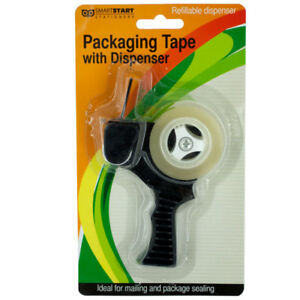 Set Of 12 Bulk Lot Packaging Tape With Refillable Dispenser