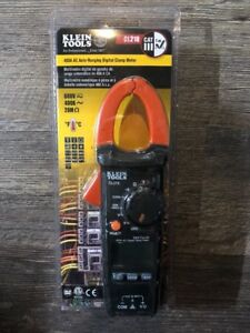 Klein Tools 400a Ac Auto ranging Digital Clamp Meter cl210 brand New