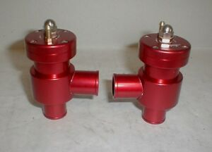Maserati Biturbo Ghibli Ii Qpiv Turbo Pressure Blow Off Valve Set 3200gt Pop Bov