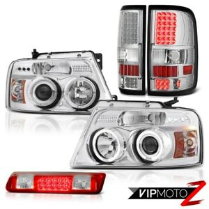 2004 2008 Ford F150 Lariat Roof Brake Light Rear Lamps Headlights Smd Halo Ring