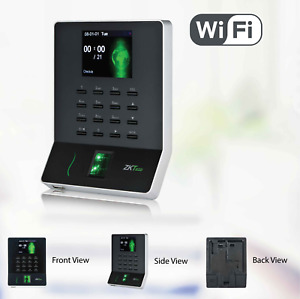 Biometric Fingerprint Time Attendance Machine Clock Employee Checking In Clock