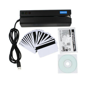 Msr605x Magnetic Strip Credit Card Reader Writer Encoder Magstripe Msr206 Msr606