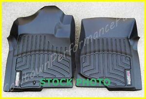 Weathertech Black Front L R Floor Liner Mats For 2008 2014 Subaru Wrx And Sti
