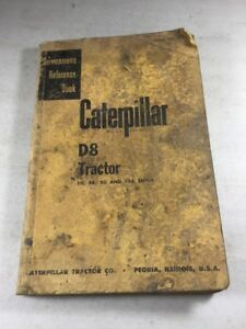 Caterpillar D8 Tractor Service Manual