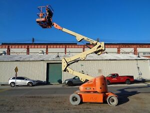 Jlg E400aj Electric Articulated Boom Man Aerial Scissor Lift 40ft