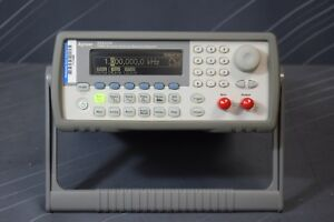 Agilent 33220a Function Arbitrary Waveform Generator 20 Mhz calibrated