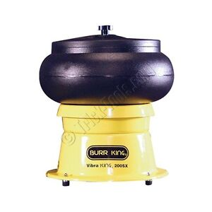 Vibra Burr King 200 Bench Top Vibratory Bowl 20 Qt Bowl 1 5 Hp 120v