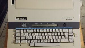 Smith Corona Xd 6700 Electric Typewriter word Processor Tested Manual Included