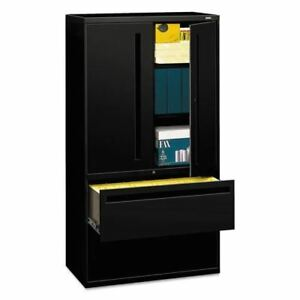 Hon Brigade 700 Series Lateral File With Storage Hon785lsp