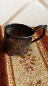Vintage Newport Sterling Silver Baby Cup