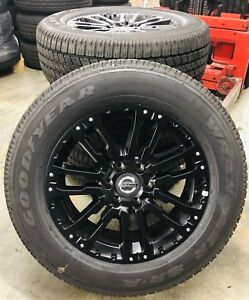 New Takeoff Nissan Titan Midnight Edition 20 Black Factory Oe Wheels Rims Tires