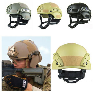 Military Tactical Protective Fast Helmet Airsoft Paintball Mask Goggle Outdoor