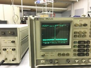 Hp Agilent 3585b Spectrum Analyzer 20hz To 40mhz