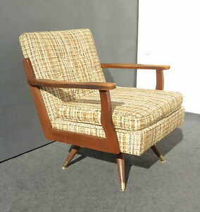 Vtg Danish Mid Century Modern Arm Chair Paoli Chair Co 1965 Charlotte Perriand