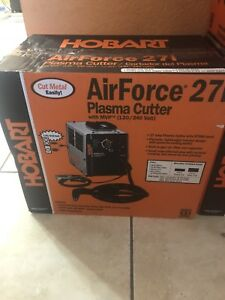 Hobart Airforce 27i Plasma Cutter With 12ft Torch 500565