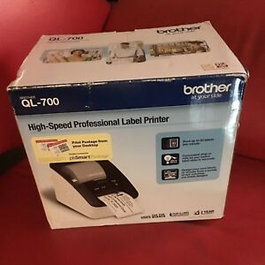 Brother Ql 700 Professional High Speed Thermal Label Maker Printer