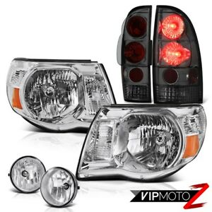 2005 2011 Toyota Tacoma Chrome Factory Style Headlight Tail Light Bumper Foglamp