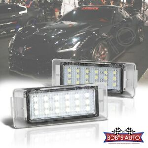 For Camaro Corvette Impala Cts Xts 2pc High Power Led License Plate Lamp Light