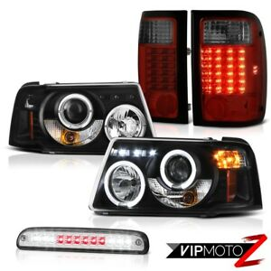Led Projector Headlights Rear Tail Lights Roof Stop Chrome 01 11 Ford Ranger Fx4