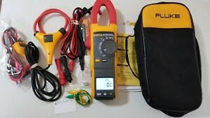 Used Fluke 381 True rms Ac dc Clamp Meter With Iflex More Tp 239323