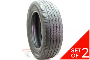 Set Of 2 Used P 275 60r20 Goodyear Wrangler Sr a 114s 6 5 32