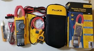 New Fluke 381 True rms Ac dc Clamp Meter With Iflex Tp 239340